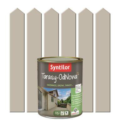 Farba do drewna TARASY ODNOWA 0.75 l Piaskowy SYNTILOR