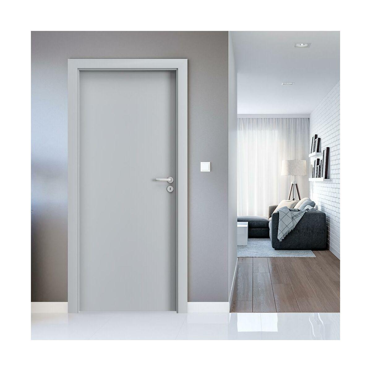 Skrzydlo Drzwiowe Pelne Cpl 1 1 Popielate 90 Prawe Porta Drzwi Wewnetrzne W Atrakcyjnej Cenie W Sklepach Leroy Merlin