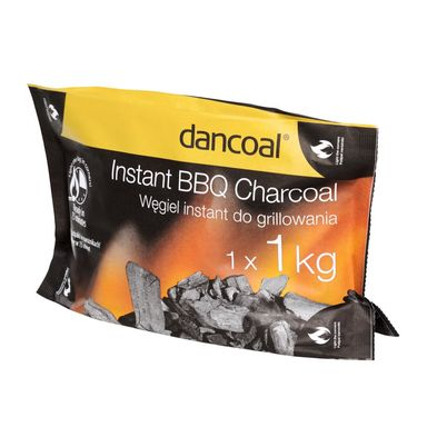 Węgiel drzewny 1 kg INSTANT BBQ DANCOAL