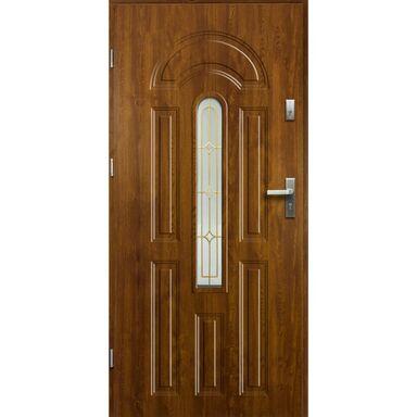Drzwi wejściowe WENUS Złoty dąb 80 Lewe