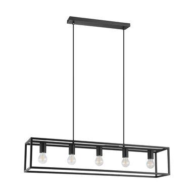 Lampa wisząca ELDRICK czarna 5 x E27 EGLO
