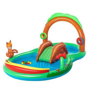 Dmuchany plac zabaw dla dzieci 295 x 199 x 130 cm BESTWAY 53093