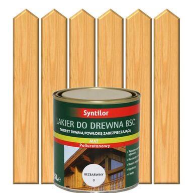 Lakier zewnętrzny do drewna BSC 0.25 l Bezbarwny SYNTILOR