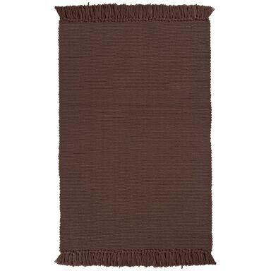 Dywan BASIC brązowy 50 x 80 cm wys. runa 3 mm INSPIRE