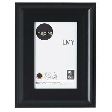 Ramka na zdjęcia EMY 10 x 15 cm czarna INSPIRE