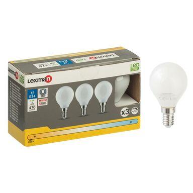 Żarówka LED E14 3 szt. (230 V) 4.5 W 470 lm Ciepła biel LEXMAN