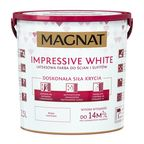 Farba wewnętrzna Impressive white 2.5 l biała Magnat