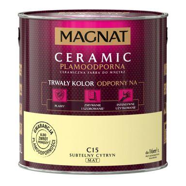 Farba wewnętrzna CERAMIC 2.5 l Subtelny cytryn MAGNAT