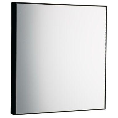 Lustro kwadratowe JO czarne 30 x 30 cm INSPIRE