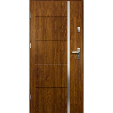 Drzwi wejściowe IRIS Złoty dąb 90 Lewe