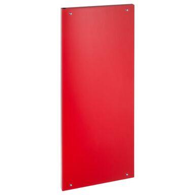 Grzejnik dekoracyjny VITRO 150 / 50 Czerwony LUXRAD