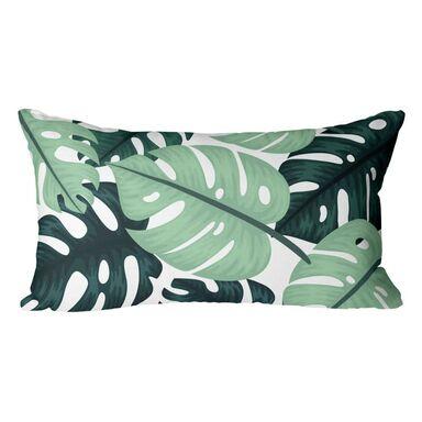 Poduszka w liście Bahama Kenita zielona 50 x 30 cm