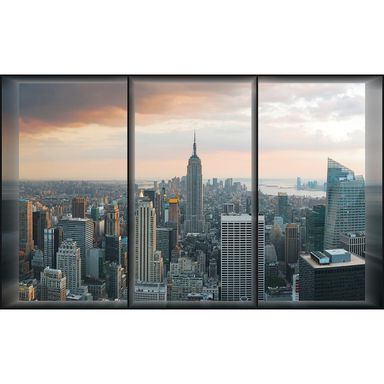 Fototapeta NEW YORK WINDOW 146 x 208 cm