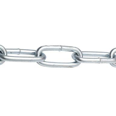 Łańcuch długoogniwowy 5 mm x 1 mb 125 kg stalowy spawany ocynkowany STANDERS