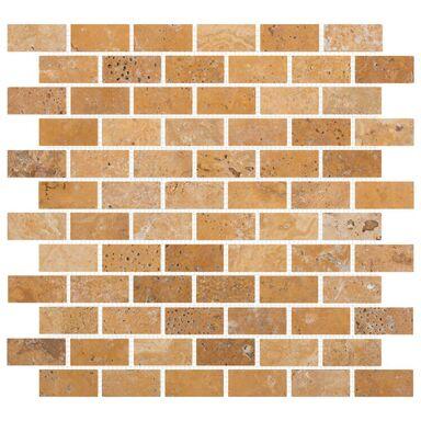 Mozaika TRAVERTINE BRICK 30.50 x 30.50 MARMARA