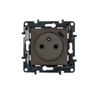 Gniazdo pojedyncze z USB STRUCTURA magnez LEGRAND