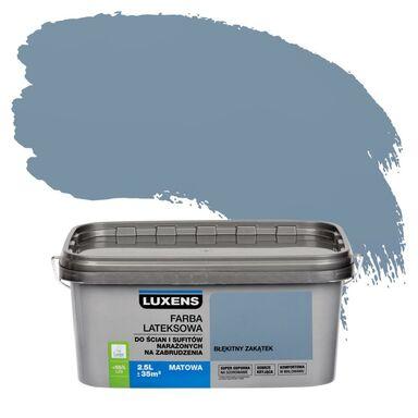 Farba wewnętrzna NARAŻONYCH NA ZABRUDZENIA 2,5 l Błękitny zakątek LUXENS