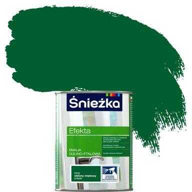 Emalia EFEKTA 0,9 l Zielony miętowy ŚNIEŻKA