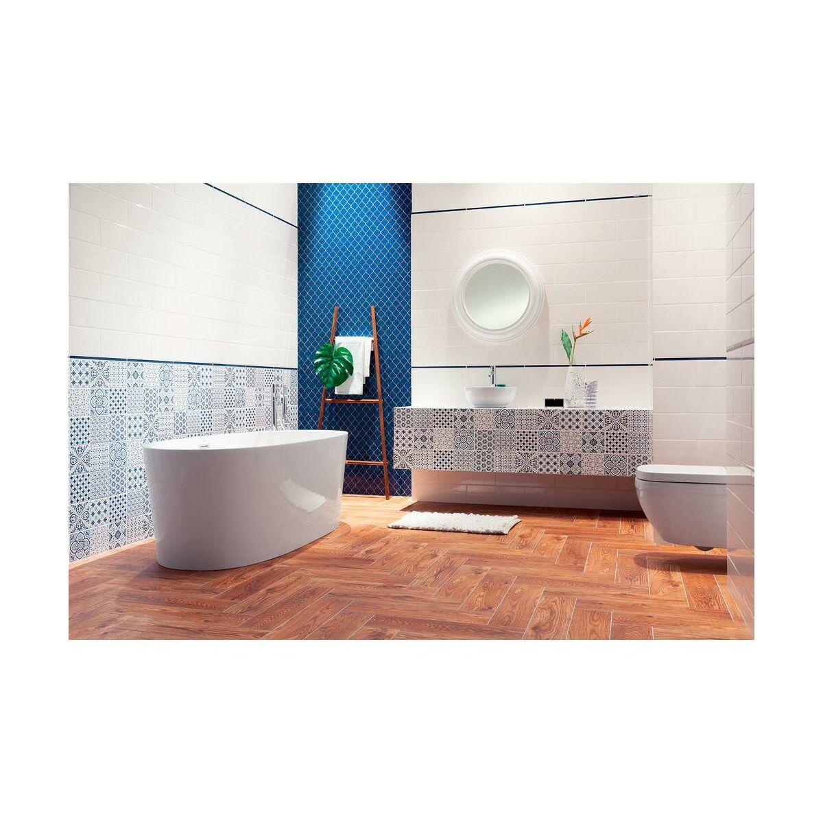 Glazura Avignon White 14 8 X 44 8 Arte Glazura W Atrakcyjnej Cenie W Sklepach Leroy Merlin