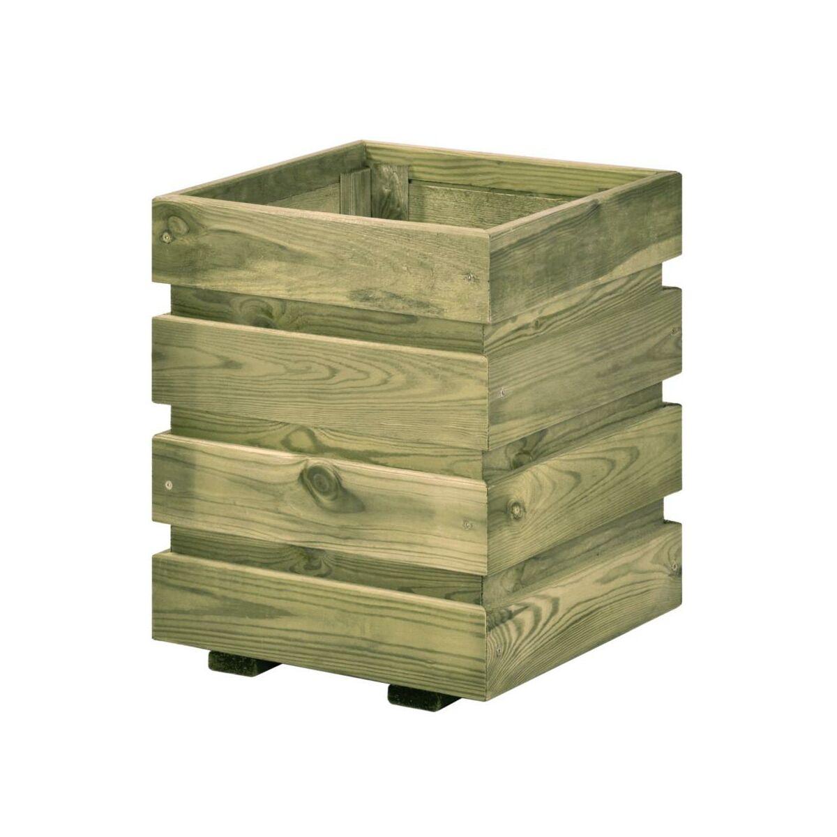 Donica Ogrodowa Fix 30 X 30 X 37 Cm Drewniana Sobex Donice Ogrodowe W Atrakcyjnej Cenie W Sklepach Leroy Merlin