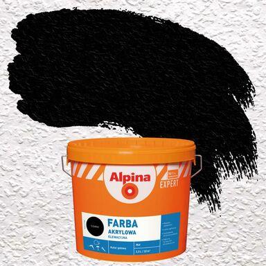 Farba elewacyjna akrylowa FARBA ELEWACYJNA Czarny ALPINA EXPERT
