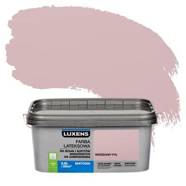Farba wewnętrzna NARAŻONYCH NA ZABRUDZENIA 2,5 l Wróżkowy pył LUXENS