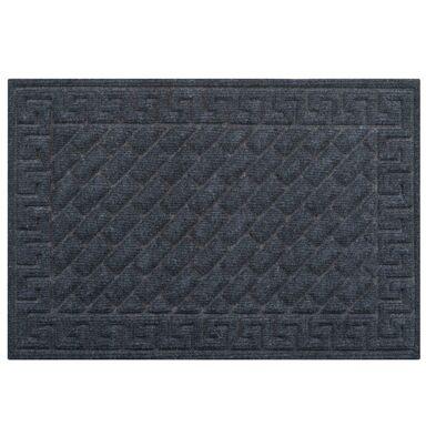Wycieraczka wewnętrzna Texture 60 x 40 cm czarna