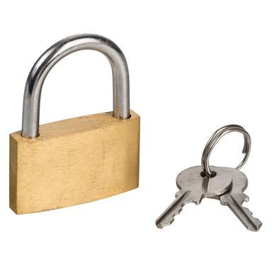 Kłódka z kluczem 35MM