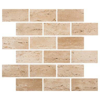 Mozaika TRAVERTYN CLASSIC ŻYWICA BIG BRICH 30,50 x 30,50 MARMARA