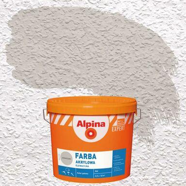 Farba elewacyjna AKRYLOWA 2.5 l Jasnoszary ALPINA EXPERT