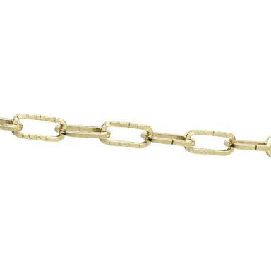 Łańcuch do żyrandoli 2 mm x 1 mb 8 kg stalowy mosiądzowany STANDERS