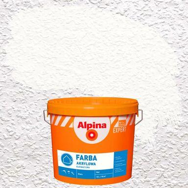 Farba elewacyjna AKRYLOWA 10 l Biały ALPINA EXPERT
