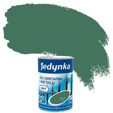 Emalia DO DREWNA I METALU 0,9 l Zielony jasny JEDYNKA