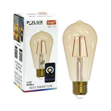 Żarówka LED E27 TUYA (230 V) 5,5 W 470 lm WiFI POLUX
