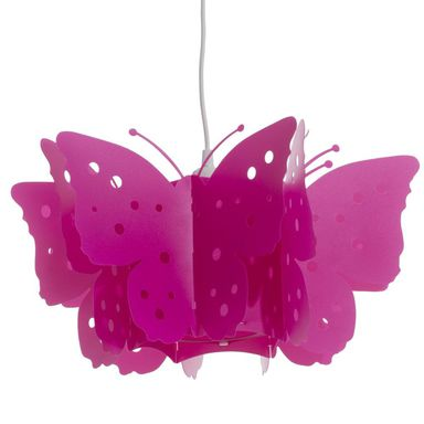 Lampa wisząca MOTYL różowa E27 ORIVA AB