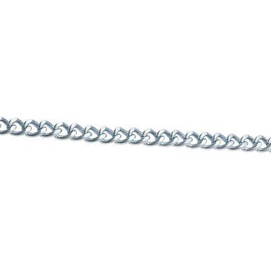 Łańcuch dekoracyjny skręcany 1.8 mm x 1 mb 1 kg stalowy ocynkowany STANDERS