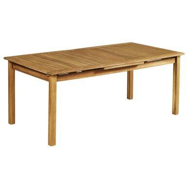Stół ogrodowy 100 x 200-260 cm PORTO NATERIAL rozkładany
