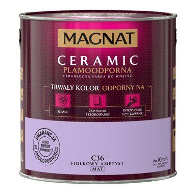 Farba wewnętrzna CERAMIC 2.5 l Fiołkowy ametyst MAGNAT