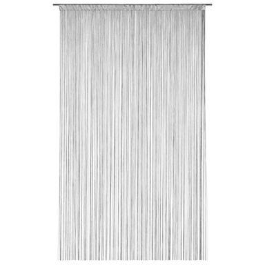 Zasłona sznurkowa makaron 140 x 250 cm szara