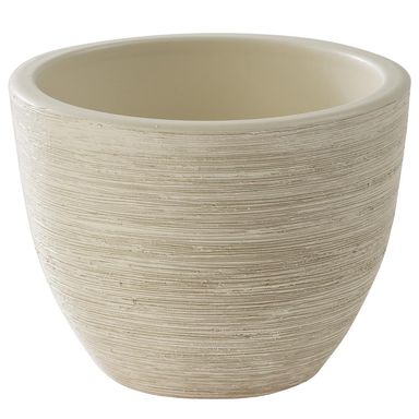 Osłonka ceramiczna 17 cm kremowa SERIA 302 CERMAX