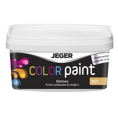 Farba dekoracyjna COLOR PAINT 1 l P0548 Lateksowa matowa JEGER