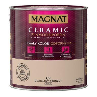 Farba wewnętrzna CERAMIC 2.5 l Delikatny bronzyt MAGNAT