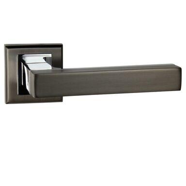 Klamka drzwiowa na rozecie MISTRAL BLACK Chrom SCHAFFNER