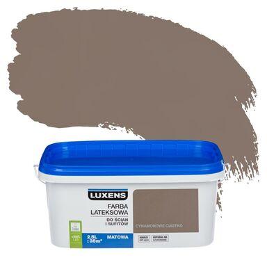 Farba wewnętrzna do ścian i sufitów EMULSJA 2.5 l Cynamonowe ciastko LUXENS