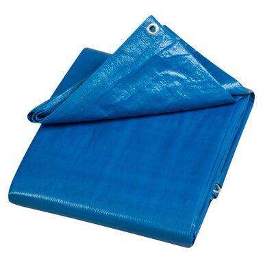 Plandeka ochronna 5 x 4 m niebieska uniwersalna