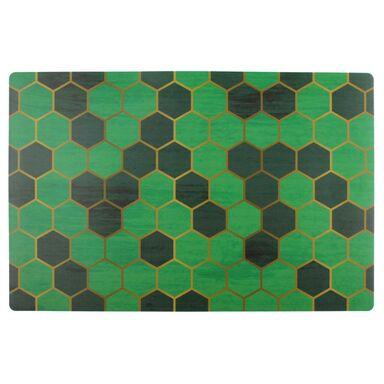 Podkładka na stół Wabe prostokątna 43.5 x 28.2 cm zielona
