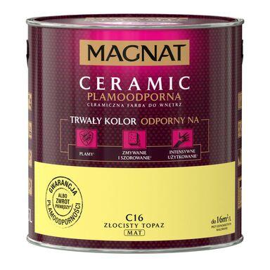 Farba wewnętrzna CERAMIC 2.5 l Złocisty topaz MAGNAT