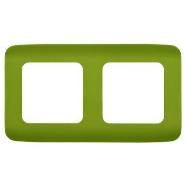 Ramka podwójna COSY  zielony  LEXMAN