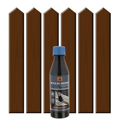 Rozpuszczalnikowa bejca do drewna RUSTYKALNA Orzech ciemny DRAGON
