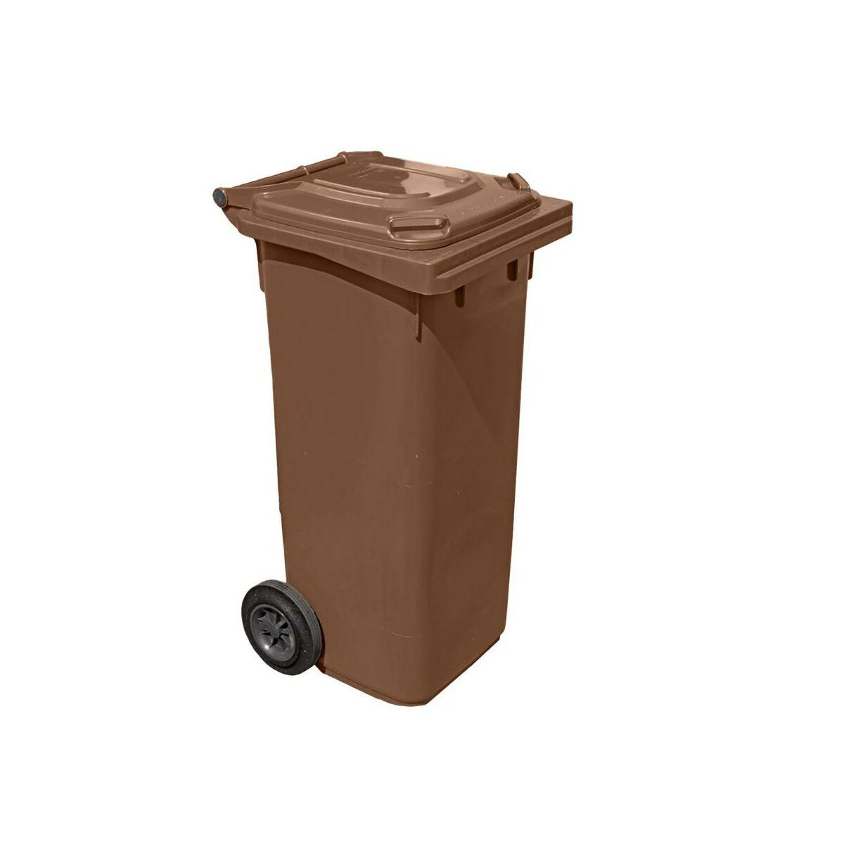Kosz Na Smieci 120 L Arregui Brazowy Na Odpady Biodegradowalne Kosze Na Smieci Pojemniki Na Odpady W Atrakcyjnej Cenie W Sklepach Leroy Merlin